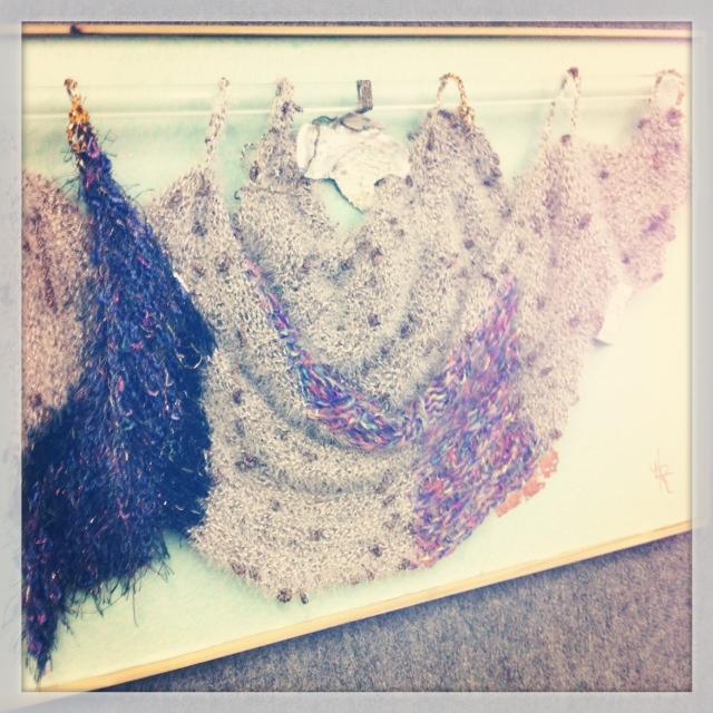 Knit Wall Hanging