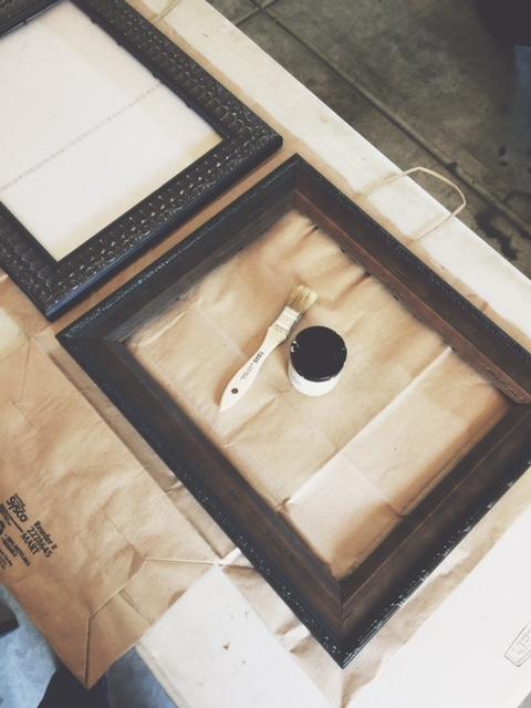 Brown frames reused