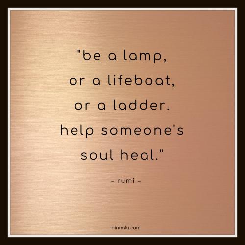 Help Someone's Soul Heal