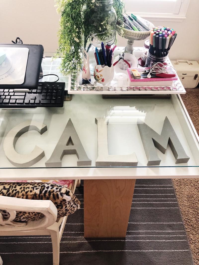 Calm Office Decor
